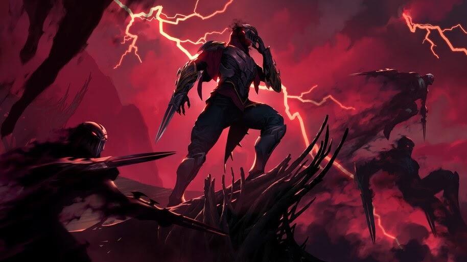 Zed Lol Legends Of Runeterra 4k Wallpaper 41474