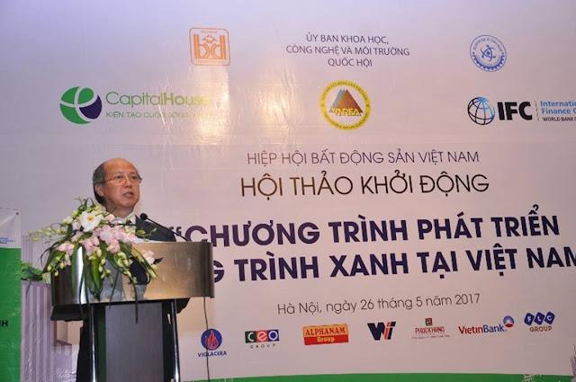 Hội thảo khởi động chương trình phát triển công trình xanh tại Việt nam ngày 26/5
