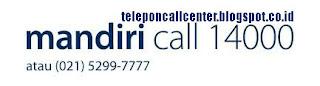 Bank Mandiri Call Center