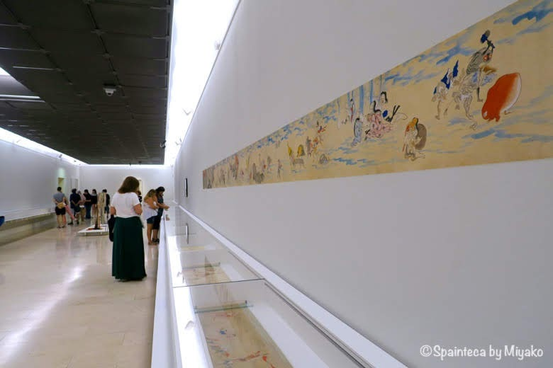 マドリードで鑑賞する日本の妖怪の白鬼夜行絵巻《Yokai: Iconografía de lo fantástico》