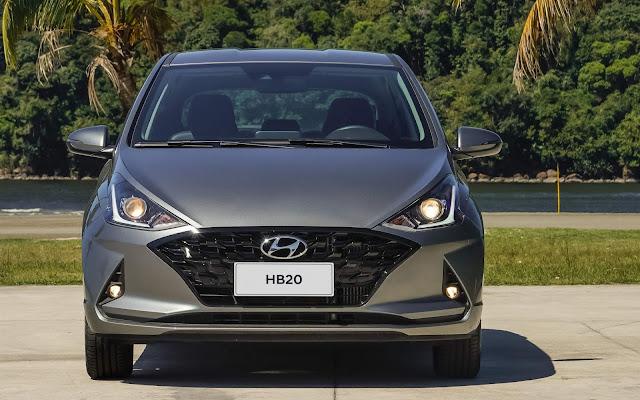Novo Hyundai HB20 2021 1.0 Turbo Automático