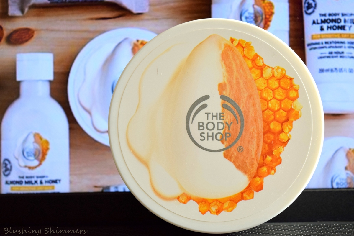 The Body Shop Almond Milk & Honey Body Butter Review