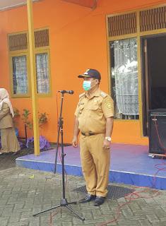 Apel Gabungan Lintas Sektor Persiapan Penyemprotan Disinfektan Untuk Pencegahan Penyebaran Virus Corona (Covid-19) di Wilayah Kecamatan Banjarmasin Utara