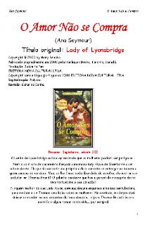 Brands Of Lyonsbridge II O AMOR NAO SE COMPRA - Ana Seymour