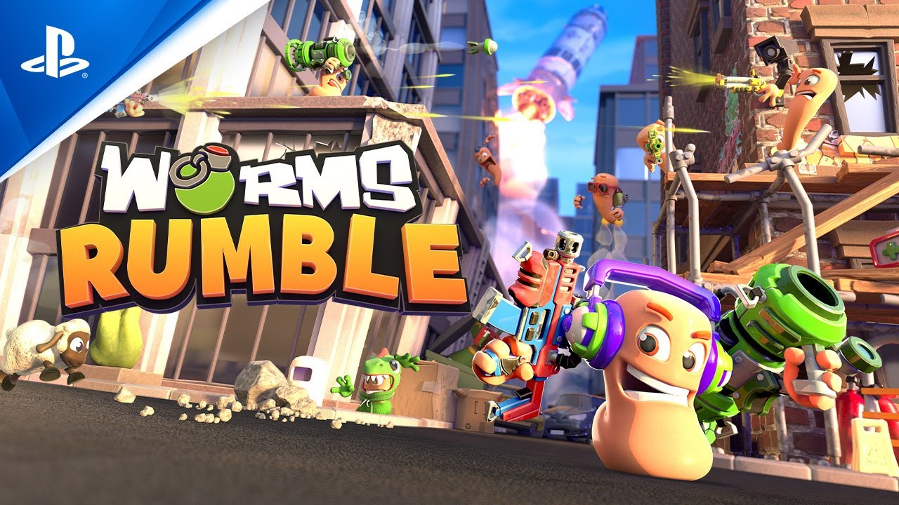Worms Rumble Open Cross-Play Beta Now Available