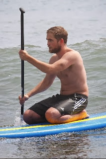 Robert Pattinson fat