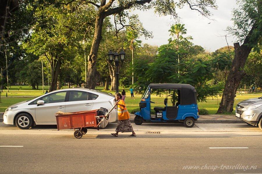 Улицы Шри-Ланки фото