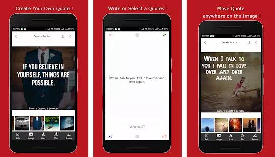 Aplikasi Pembuat Quotes Terbaik di Android-3