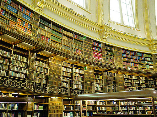 Perpustakaan Terbesar Di Dunia : Koleksinya 170,000,000 Buah