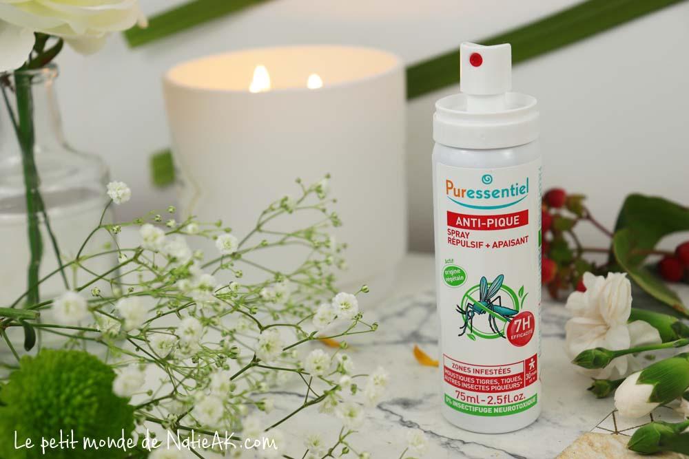 Anti-moustique naturel : la gamme anti-pique Puressentiel