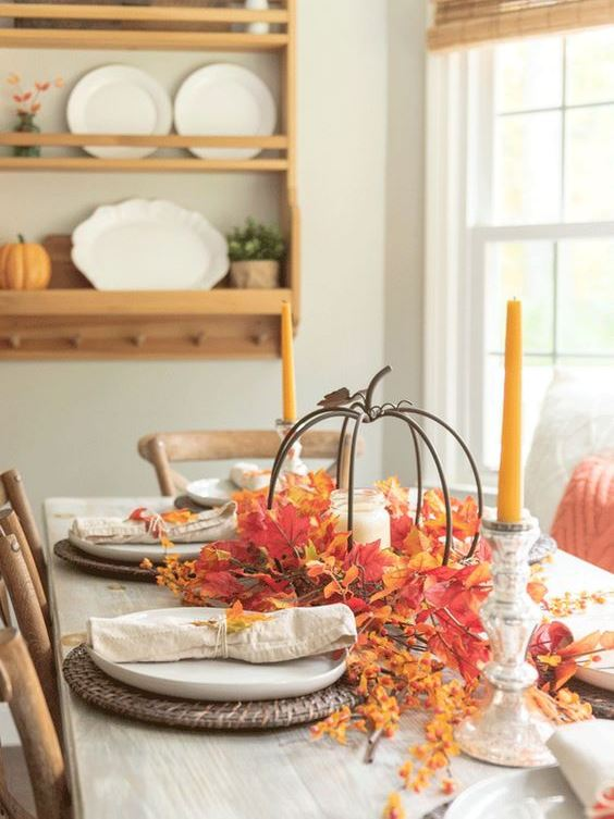 Awesome Thanksgiving Tablescapes Ideas For More Taste And Enjoyful