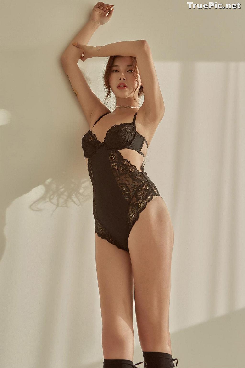 Image Korean Fashion Model - Da Yomi (다요미) - Lountess Spring Lingerie #1 - TruePic.net - Picture-4