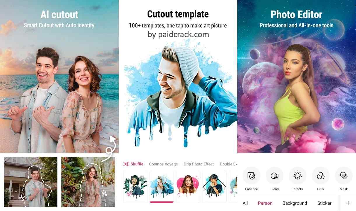 PickU Photo Editor Premium Mod Apk 3.1.4