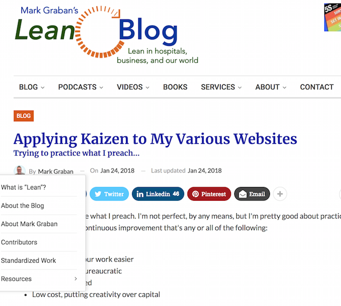 applying kaizen to my various websites \u2013 lean blogLanding Page Optimization Sucess Story House Of Kaizen 347263 #11