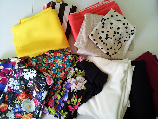 Fashion Design Lifestyle And Diy Fabric Haul Part 1
