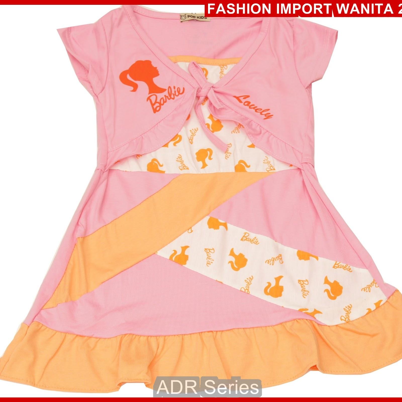 ADR172 Dress Wanita Pink Anak BB Import BMGShop