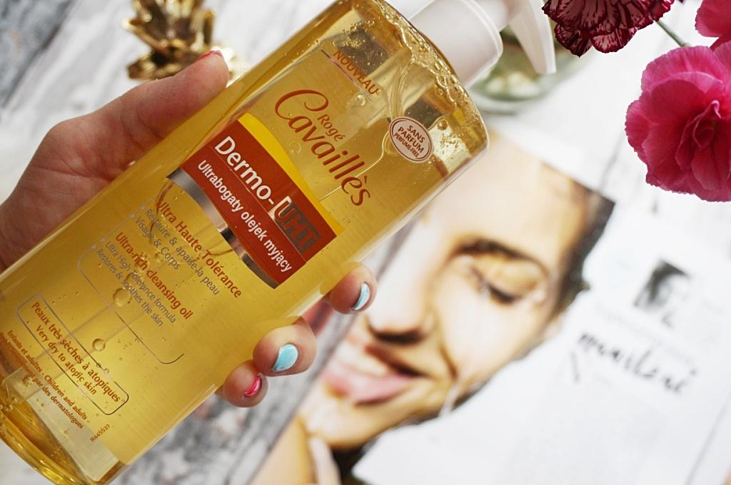 dermokosmetyki Roge Cavailles ultrabogaty olejek do mycia skóra wrażliwa i sucha