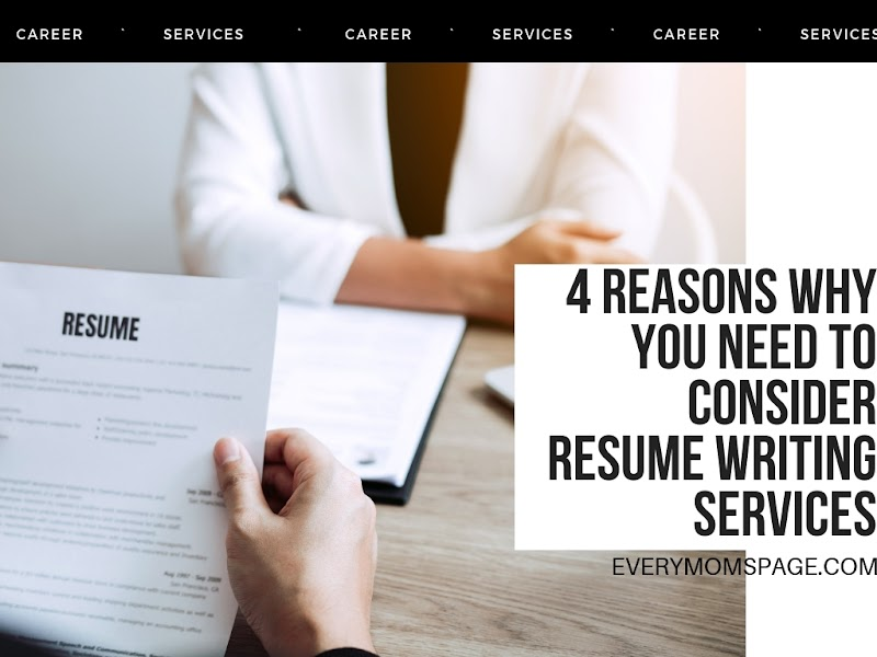 4 Reasons why you need to consider resume writing services
