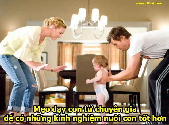 Mẹo dạy con từ chuyên gia để có những kinh nghiệm nuôi con tốt hơn