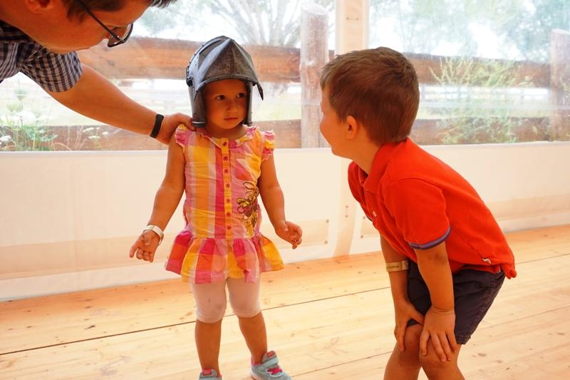 park dzieje, dzieci doświadczają historii