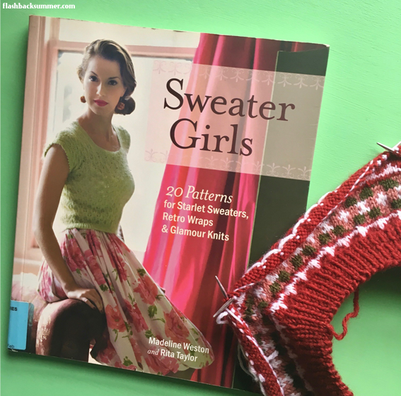 Flashback Summer: Stash-Busting Vintage Beret - Sweater Girls knitting book