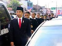 Jokowi Kena Macet Rela Jalan 3 Km, Gubernur Santun Kena Macet Terobos One Way