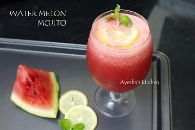 water melon mojito