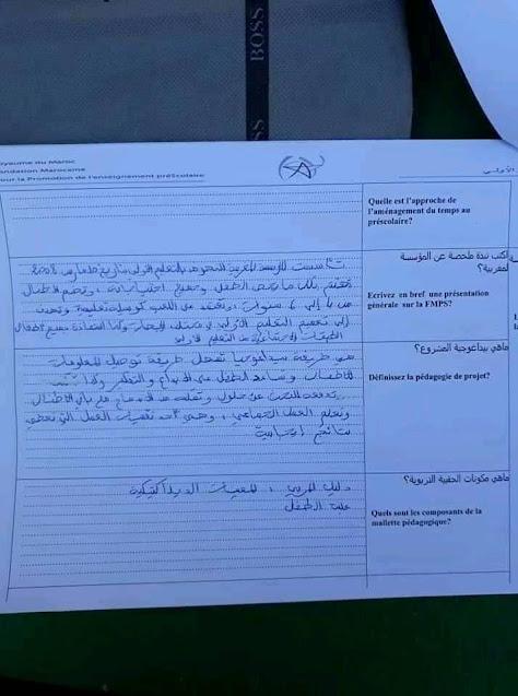 المؤسسة المغربية للنهوض بالتعليم الأولي توظيف 1019 مربي ومربية التعليم الأولي بعدة أقاليم المملكة