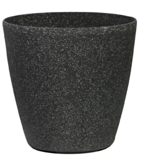 Cast Stone Round Planter-Stone Light SL Series 43cm
