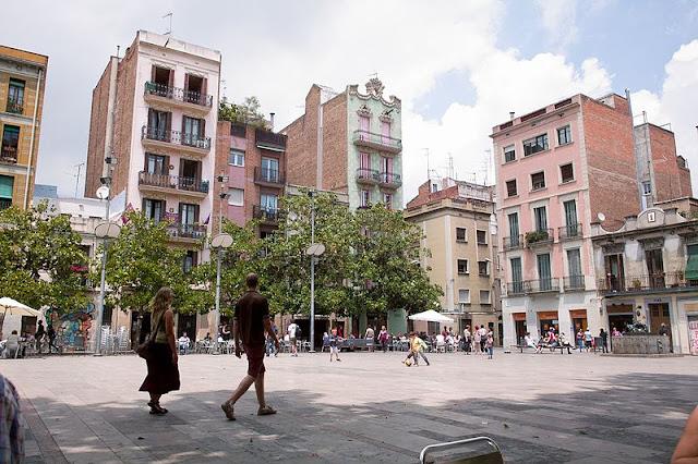 Praças para curtir Barcelona - Plaça del Sol