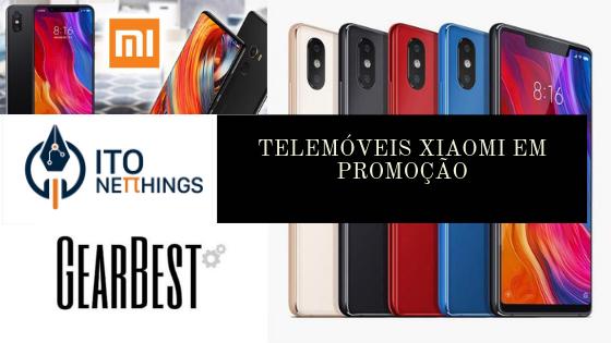 Smartphones Xiaomi em boa promoção