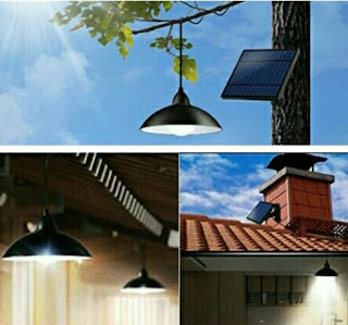 Lozayi Solar Lamp: Outdoor Shed Light with Remote - Powered by Sunlight