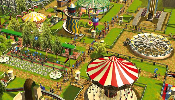 Roller Coaster Tycoon 2 Retro Review | The Bookish Gamer