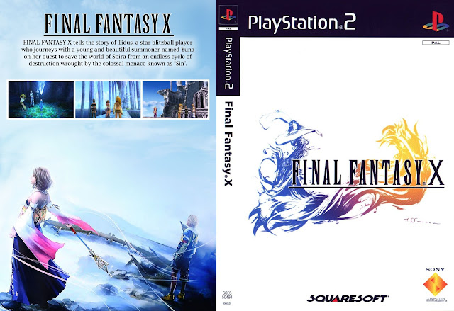 Capa Final Fantasy X PS2