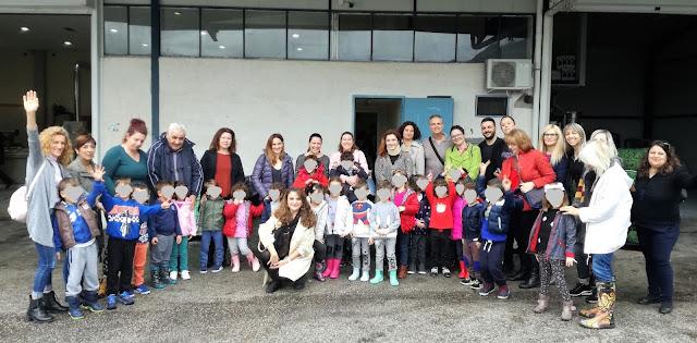 Διδακτική επίσκεψη σε ελαιοτριβεία για τους μικρούς μαθητές του 6ου Νηπιαγωγείου Ναυπλίου