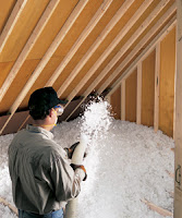 blow-in insulation for the attic