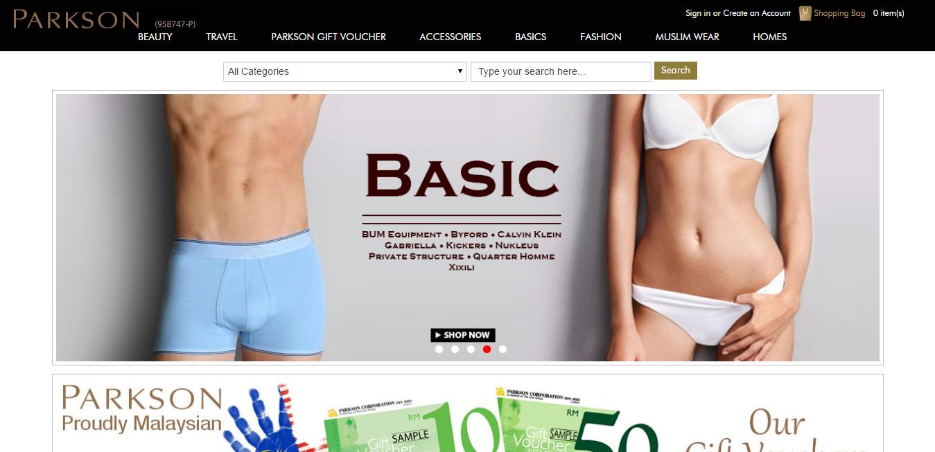Parkson online store