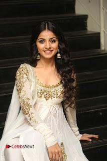 Telugu Actress Mahima Makwana Stills in White Desginer Dress at Venkatapuram Movie Logo Launch  0200.JPG