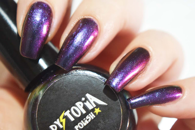 Dystopia Nail Polish Samhain Collection Swatches Midnight's Mirror