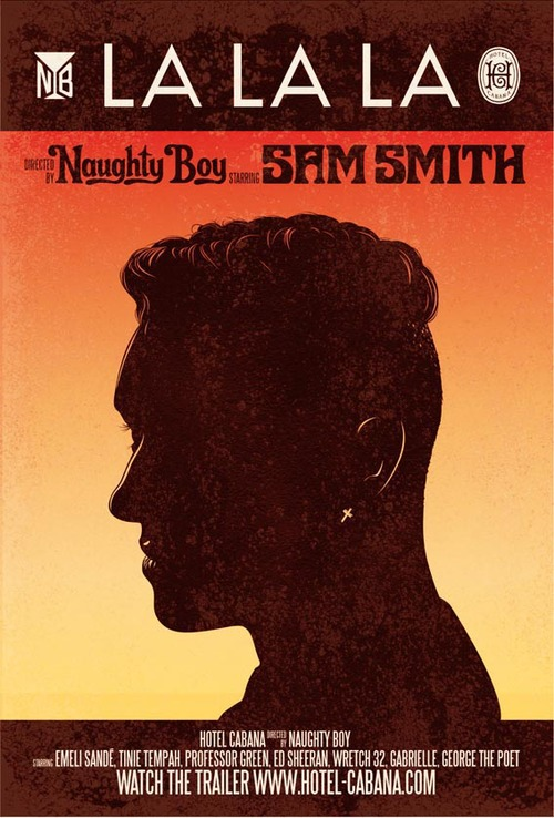 Music Television presents Naughty Boy and the music video for his song titled La la la, featuring Sam Smith. #SamSmith #NaughtyBoy #LaLaLa #MusicVideo #MusicTelevision