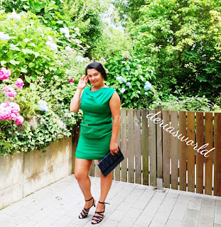 mini dress-wedding dress-green dress