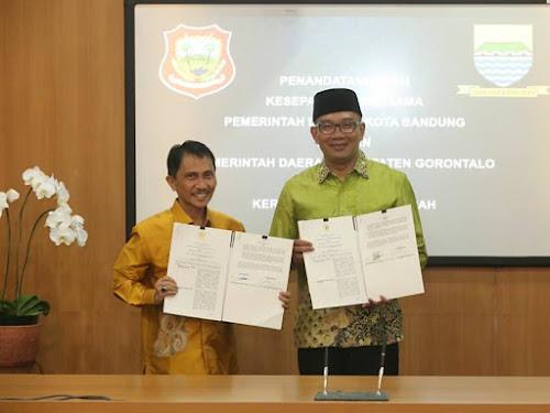 Kerja sama Gorontalo dan Bandung