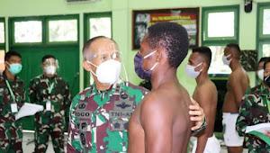 Sindang penentuan calon Tamtama PK TNI AD Gel. I th. 2021