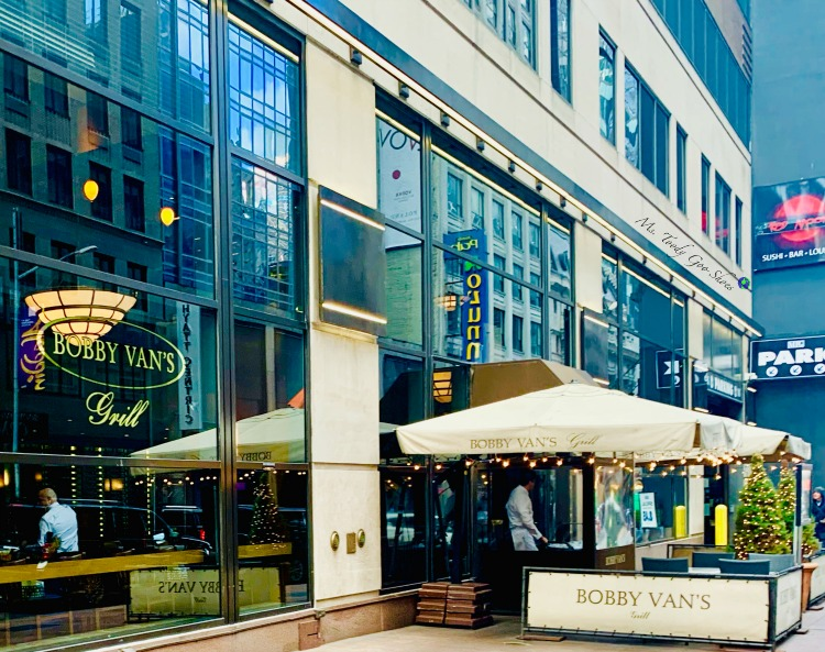 Bobby Van's - One of  50 Places To Eat Near Tiimes Square - From Cheap To Chic! | Ms. Toody Goo Shoes