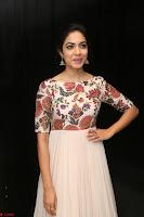 Ritu Varma smiling face Cream Anarkali dress at launch of OPPO New Selfie Camera F3 ~  Exclusive 005.JPG