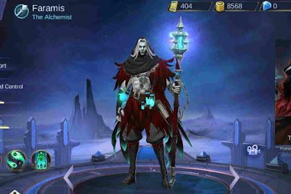 Build Item Hero Faramis Mobile Legend Anti Nuklir