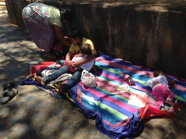3 Little Girls In Katharagama