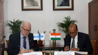 India signs MoU with Finland