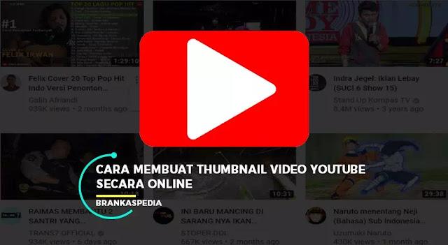 Cara Membuat Thumbnail Video Youtube Secara Online