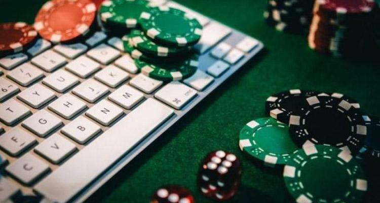 Interfaz de póquer online